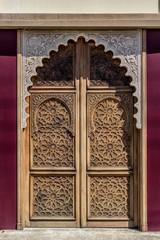 Porte du Théâtre de Gujan-Mestras