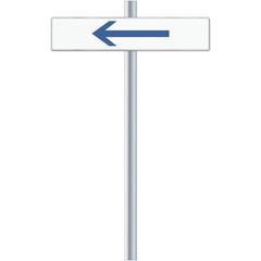 Richtung links
