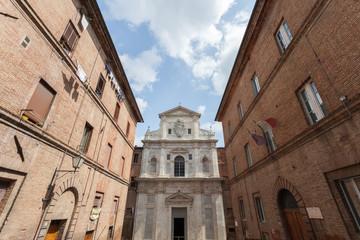 Chiesa di Santa Chiara del Refugio. Siena, Italy