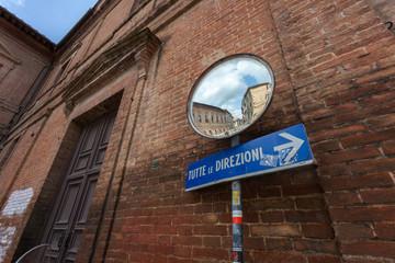 Scorcio cittadino a Siena, Toscana. Italia