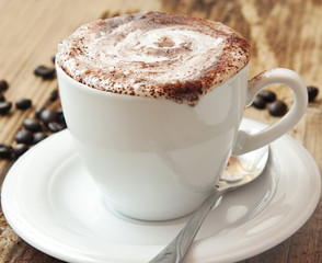 Classic Cappuccino Coffee Cup
