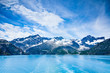 Leinwandbild Motiv Glacier Bay in Mountains in Alaska, United States