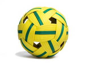 Ball for playing sepak ball