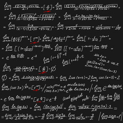 vector background with mathematical symbols