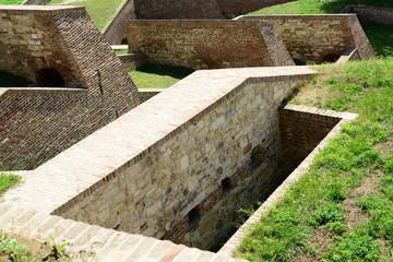 Architecture details of Kalemegdan fortress in Belgrade Serbia