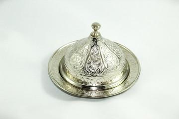 Gümüş kase