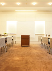 Conference room in office