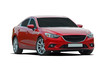 red luxury car - 69137172