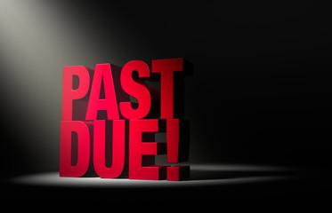 Past Due Warning