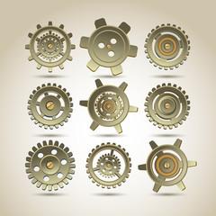 Gears set