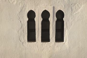 Trois fenêtres maures