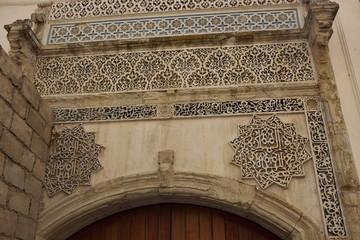 Anciennes façades, Tanger, Maroc