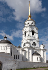 Belfry of Assumption Cathedral in Vladimir, Russia