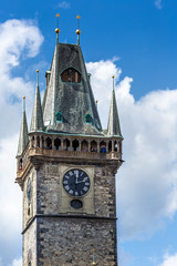 View of Old Town Hall with astronomical clock
