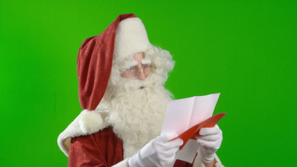 Santa Claus is Reading a Strange Wish List