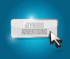 keyword advertising illustration design