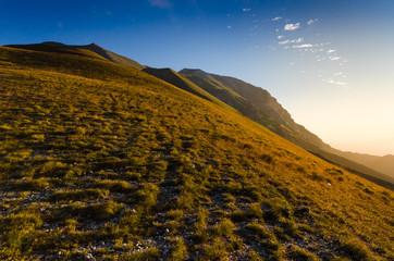 Risalendo il Monte Vettore
