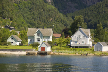 norwegisches dort, hardangerfjord