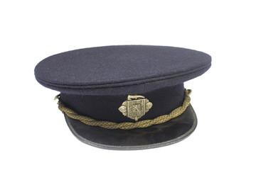Historical Czechoslovakian fire-fighter cap, full dress uniform
