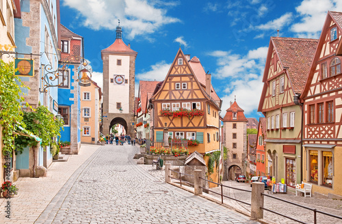 Papiers peints Alpes Das mittelalterliche Rothenburg ob der Tauber
