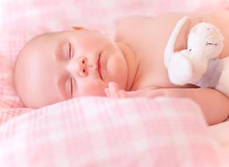 Sweet kid sleeps