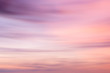 Defocused sunset sky background  with blurred panning motion. - 69144530