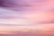Leinwandbild Motiv Defocused sunset sky background  with blurred panning motion.