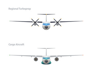 Cargo aircraft and regional turboprop