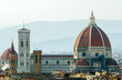 Florence cityscape with Duomo as main subject