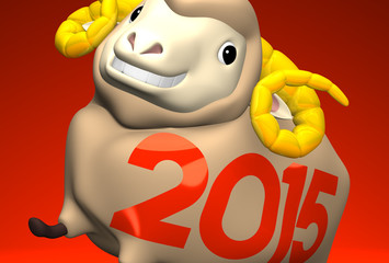 Close-up Of 2015 Brown Sheep