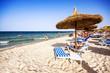 Nice beach in Port El Kantaoui, Tunisia.