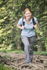Active Tourism - Woman Hiking