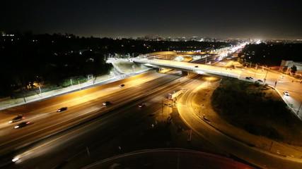 San Diego 405 Freeway Night - West Los Angeles