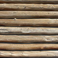 Mur en rondins de bois - Logs wall