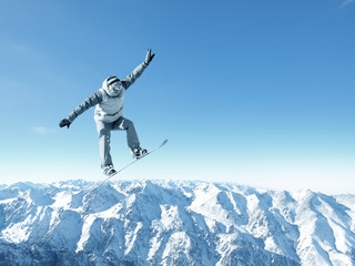 Snowboarding sport