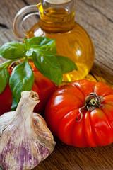 Gemüse und Kräuter aus dem Sommergarten