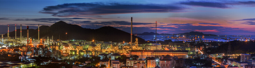 petrochemical plant and logistic port
