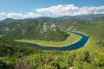 Crnojevica River In Lake Skadar National Park, Montenegro