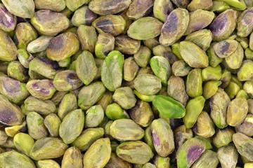 Unshelled pistachios