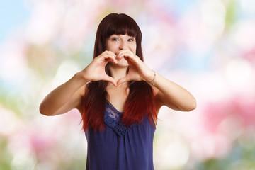 Herz Liebe Mädchen