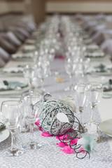 déco de table mariage