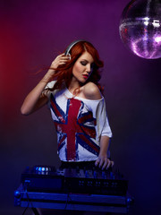 Female Disco Jockey