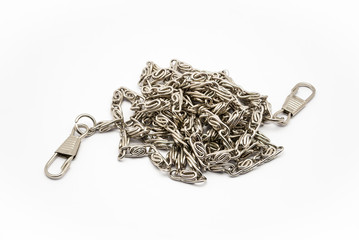 Stainless Steel Necklace with Hooks