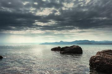Морской пейзаж. Крымский полуостров