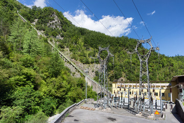 electric power plant in mountain