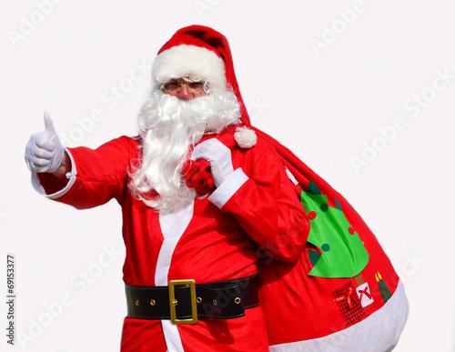 canvas print picture Santa Claus