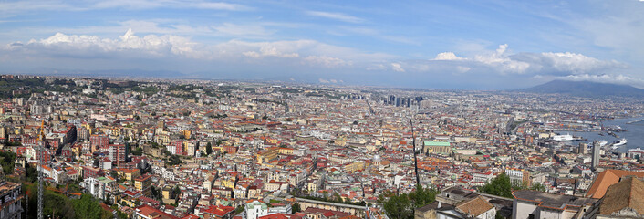 Panorama of Naples - Italy