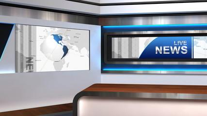 Live News Studio TV Studio 102h