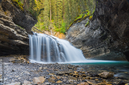 Johnston Canyon Waterfalls Alberta