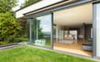 outdoor of a modern house, garden - 69156799